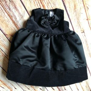 Carter formal dress layered with satin and velvet